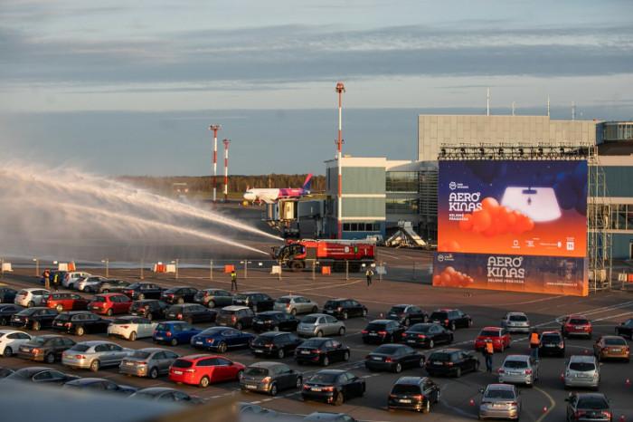 Aerocinema in Vilnius Airport